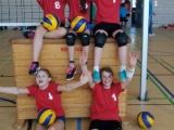 Volleyball U-15 Mädchen bei den Bezirksmeisterschaften